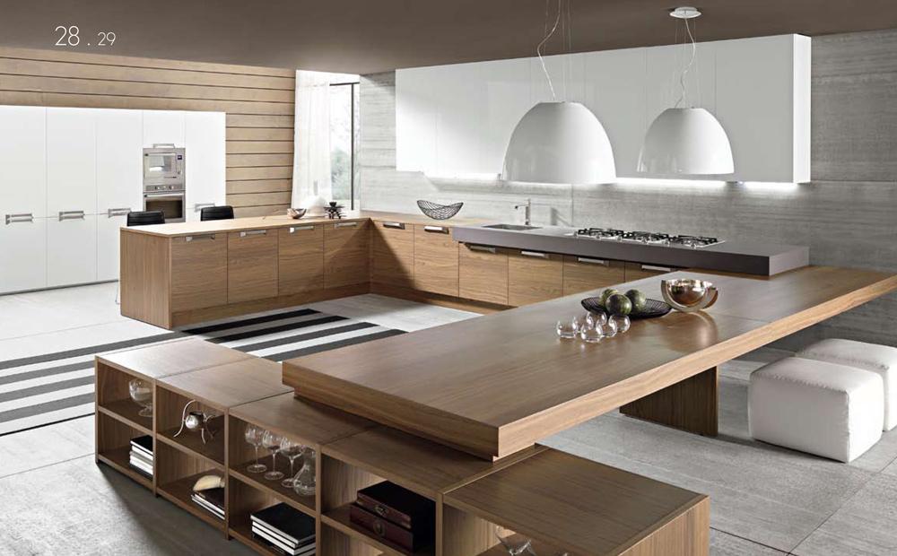 Cucine moderne e raffinate con materiali di pregio. Lusso e design ...