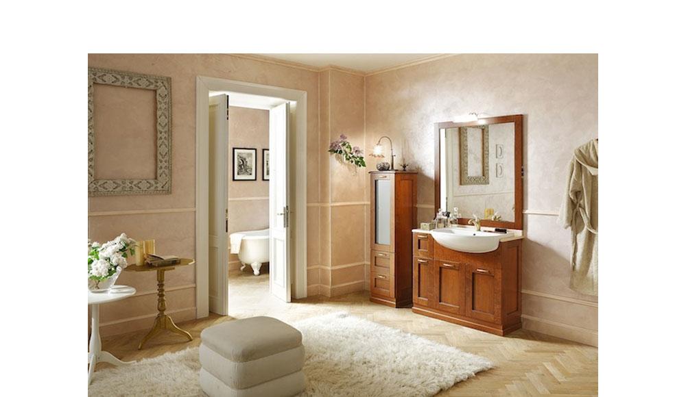 Visma arredo presenta la collazione bagni in stile classico e sobrio