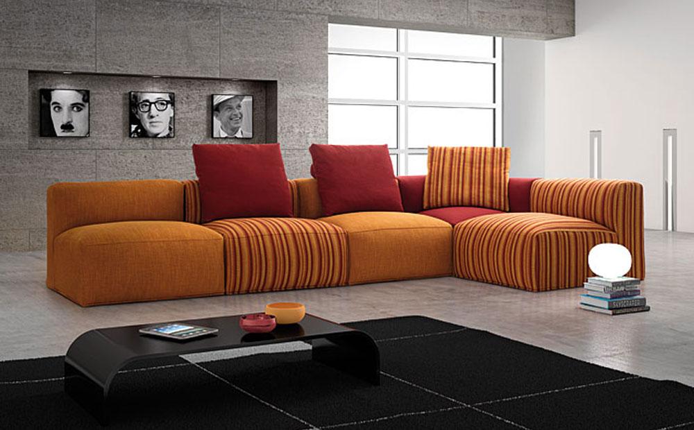 Gruppo visma arredo salotti moderni trendy design e for Salotti colorati