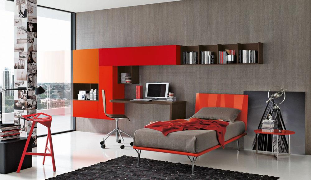 Camerette moderne per bambini jt45 pineglen for Arredare camera da letto ragazzo