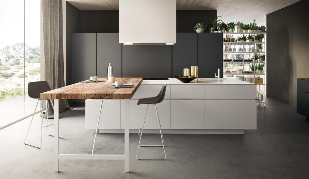 Cucine moderne e alla moda minimal e di design visma arredo trendy - Cucine valdesign ...