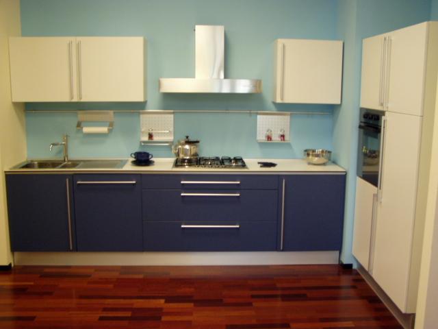 Cucine classico moderno - Cucina rossa e bianca ...